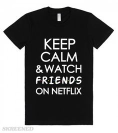 Let everyone know what you'll be binge watching Netflix this year, Friends!