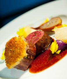 Recette Beef with root vegetables and sauce bordelaise chef video