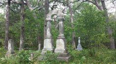 Hidden cemetery - Van Alstyne TX