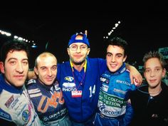 Twitter / JeanEricVergne: Found a old pic with @alo_oficial , I was like 12 years old! Good days :)