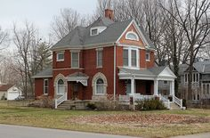 urbana ohio | 13525817595_8c92875024_z.jpg  There is a grave marker in Oak Dale that replicates this house. The marker is for the original owner of the house.