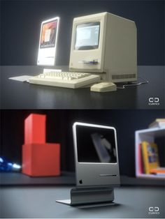 "CURVED/labs asks the question: ""What if Apple would reinvent the iconic Macintosh with up-to-date specs and a contemporary design?"" The answer: A beautifully imagined iMac-like thing with the contour of the original Macintosh. MAC fans can geek out on more awesome photos of what a Retro Mac could look like"