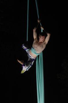 not just for girls! Aerial Dance, Aerial Acrobatics, Arial Silk, Silk Dancing, Evans, Pose Reference Photo, Exotic Dance, Circus Art, Aerial Arts
