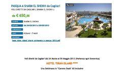 Pasqua a Sherm Tiran Hotel con voli da Cagliari