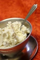 Simple Vanilla Ice Cream recipe. (This is from cuisinart, but I made it, using the Kitchen Aid ice cream maker attachment.) This turned out delicious on the very first try. Again...if I can do this...ANYONE can! It tastes like cool whip and was a big hit, but now I want to start tweaking the recipe a bit.