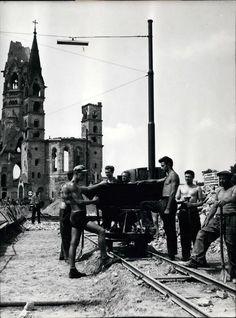 Berlin-Charlottenburg, City West, 1955.
