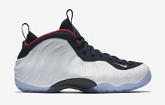 """Nike Air Foamposite One PRM """"USA/Olympic"""""""