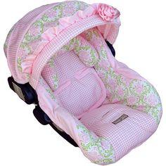 Sooooo cute! Baby Oliva Marie Infant Car Seat Cover