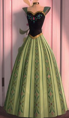 1000 images about cosplay anna 39 s coronation dress on - Princesse anna reine des neiges ...