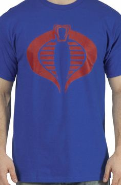 Cobra Commander G.I. Joe T-Shirt: GI JOE Mens T-shirt