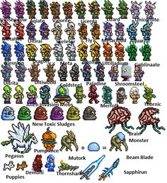 terraria monsters in real life - Buscar con Google