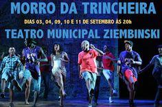"""Agenda Cultural RJ: """"Morro da Trincheira"""", texto de Jonas França e Ale..."""