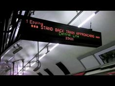 Time Travel on the Central Line
