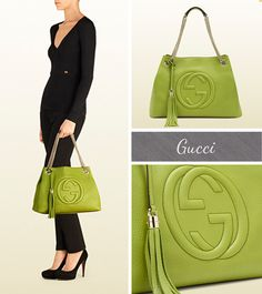 Apple Green Gucci Soho Bag