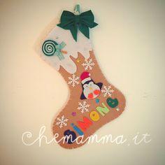 Calza della befana personalizzata, Natale