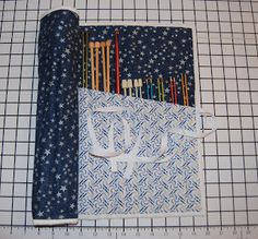 Tutorial Tuesday – Knitting Needle Case   Sew BitterSweet Designs