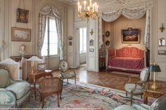 Musée Nissim de Camondo - 1911 home Royal Furniture, French Furniture, Room Interior, Interior And Exterior, Interior Design, Beautiful Interiors, Beautiful Homes, French Interiors, Georgian Interiors