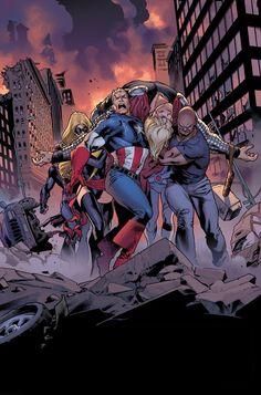 Ms. Marvel: Avengers by Stuart Immonen