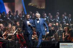 Budapest, 2017. november 25. - Andrea Bocelli olasz  tenorénekes teltházas koncertet adott a Papp László  Budapest Sportarénában.