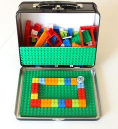 Der Legokoffer für Reiselustige
