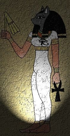 Bast - The Cat Goddess  Many of you are probably familiar with Bast, the Egyptian Feline Goddess. You may also know her by Bastet, Pasch, Ubasti, Ba en, Aset, Ishtar among many other names of this beautiful Goddess. She is known as the Goddess of protection, passion, fire, fertility, dance and music. Ancient Egyptians often worshipped cats as deities and Bast was one of the most popular ones.