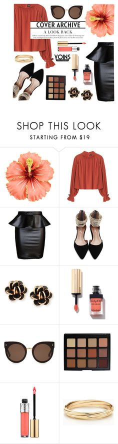 """""""YOINS #22"""" by sandralalala ❤ liked on Polyvore featuring Chantecler, STELLA McCARTNEY, Morphe and Yves Saint Laurent"""