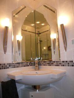 Eckwaschtisch mit Unterschrank für Bad & Gäste-WC gestalten