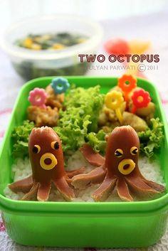 Bento box (octopus)