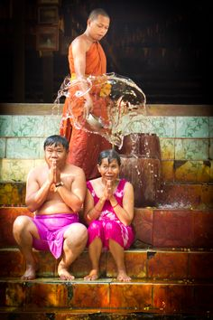 Buddhist Water Blessing