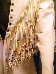 """Elvis' """"Fringe Beaded Jumpsuit"""" worn during  August to November 1970 (Also in film documentary """"That's The Way It Is""""."""