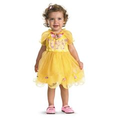 Oh my, oh my... too cute - Beauty and the Beast – Belle Infant Costume - 5 Favorite Disney Princess Costumes for Girls 2015
