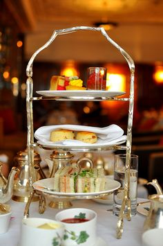 Afternoon Tea at Brown's Hotel - London a great favourite with a certain person I know..