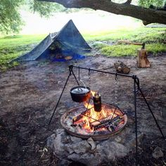 how to set up a rain tarp for camping