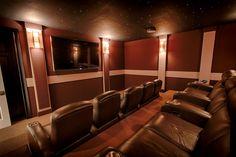 Home theater ~ Interior Design by Ruth Stieren, Baer's Altamonte Springs