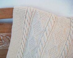 LAP ROBE Hand Knit W