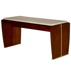 Dominique - French Modernist coffee table | From a unique collection of antique and modern coffee and cocktail tables at http://www.1stdibs.com/furniture/tables/coffee-tables-cocktail-tables/