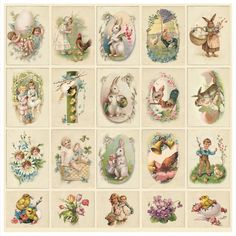 Pion Design Paper - Image Sheet - Fairytale of Spring