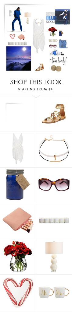 """""""Untitled #753"""" by xocolate ❤ liked on Polyvore featuring Khaite, Paddywax, Missoni, Hawkins, LSA International, Pottery Barn and Draper James"""