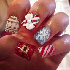 Christmas nails from last year