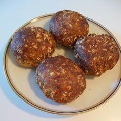 Proteinboller med skyr, lækre og klar til spisning