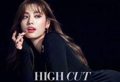 After School's Nana Rocks Red Lip Stick for High Cut Magazine | Koogle TV