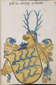 Wappenbuch des St. Galler Abtes Ulrich Rösch Heidelberg · 15. Jahrhundert Cod. Sang. 1084  Folio 228