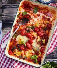 Pepperonilasagne   Meillä kotona One Pot, Ravioli, Pepperoni, Vegetable Pizza, Favorite Recipes, Pasta, Vegetables, Ethnic Recipes, Food