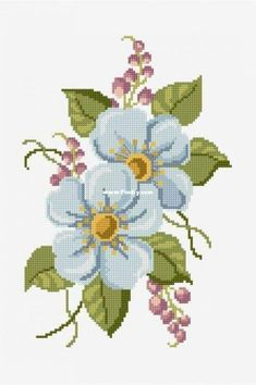 Thrilling Designing Your Own Cross Stitch Embroidery Patterns Ideas. Exhilarating Designing Your Own Cross Stitch Embroidery Patterns Ideas. Counted Cross Stitch Patterns, Cross Stitch Designs, Cross Stitch Embroidery, Embroidery Patterns, Simple Embroidery, Cross Stitch Rose, Cross Stitch Flowers, Cross Stitching, Flower Patterns
