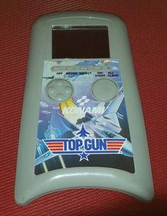 Vintage Top Gun Konami Japan 1989 Hand Held Electronic Video Game LCD  #Konami