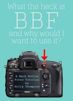 Back Button Focus Tutorial by Holly Thompson the most comprehensive BBF tutoria - Nikon - Trending Nikon for sales. - Back Button Focus Tutorial by Holly Thompson the most comprehensive BBF tutorial with detailed steps for both Canon and Nikon Dslr Photography Tips, Photography Cheat Sheets, Photography Lessons, Photography For Beginners, Photography Equipment, Photography Business, Photography Tutorials, Digital Photography, Wedding Photography