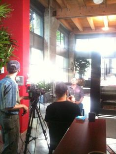 Here's a great shot of Ryan from CMA's internal video shoot!