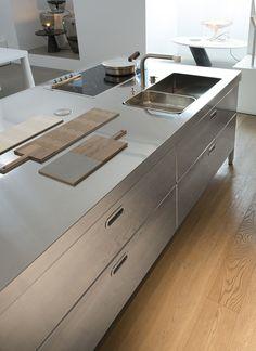 Cucine free standing: Cucina Convivio da Alpes Inox | Kitchens ...