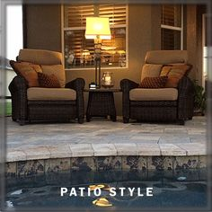 Here Is A Look At Some Of The Patios Weu0027ve Furnished. Stop By