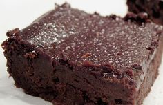 From Healing Cuisine:  Gooey HEALTHY brownies with xylitol, coconut oil, flax, almond flour, black beans, etc...
